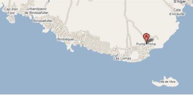 Localización de Punta Prima